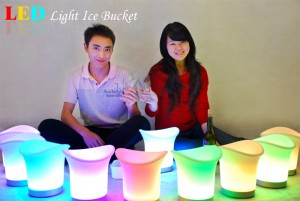 LED Color Changing Ice Bucket