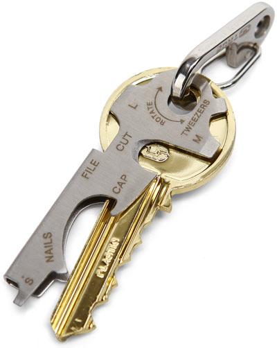 Key Ring Multi Function Tool