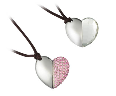 Heart-shaped 4GB USB Memory