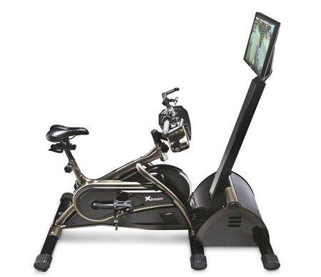 Virtual Mountain Bike Racing Simulator