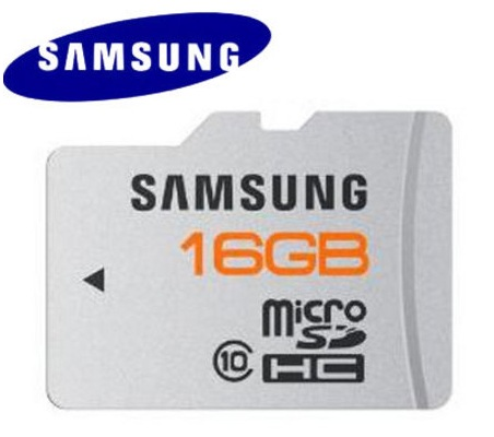 Samsung 16GB Plus C10 Micro SD Card