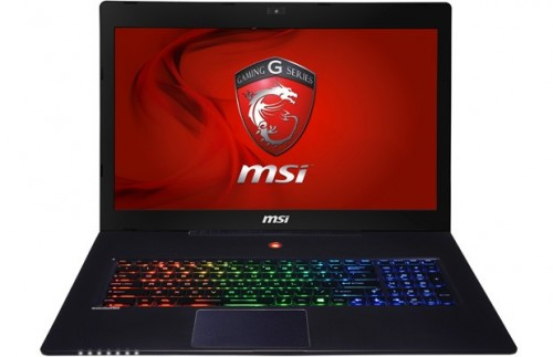 MSI lightweight GS70 gaming laptop
