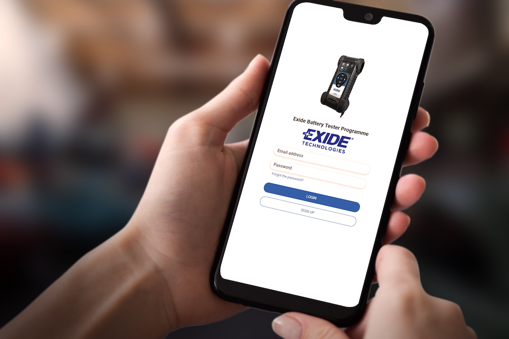 PR: Exide Launches First Web App
